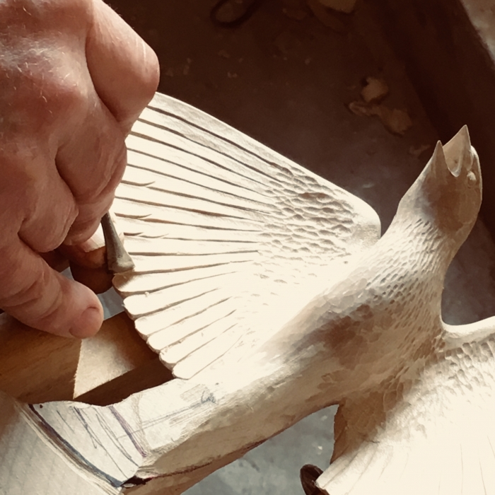 Making:  Carving Lark