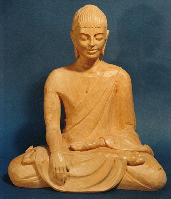 Buddha Rupa Lime H 12in