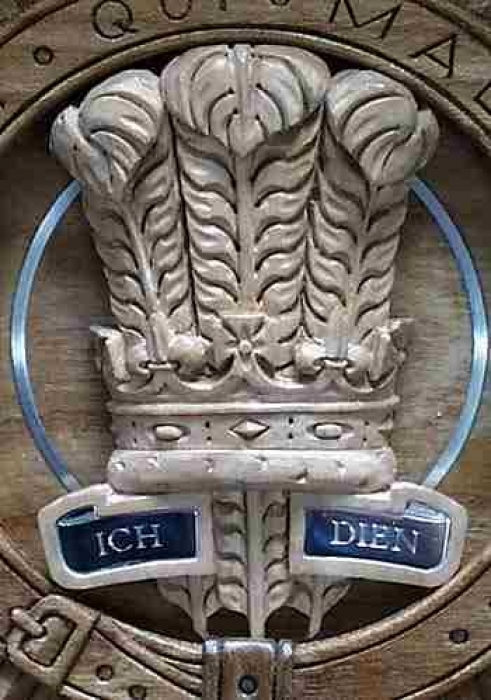 HRH The Prince of Wales, Royal Regiment of Canada Trophy detail