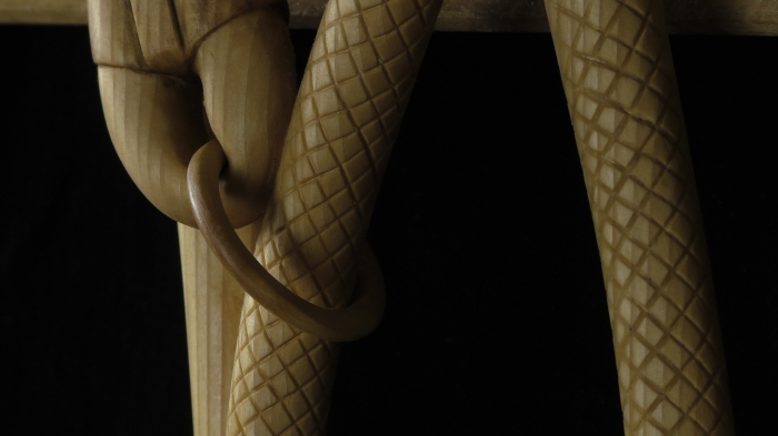 Detail: Boxwood ring