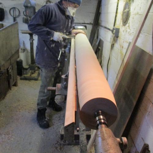 Making:  Turning Column