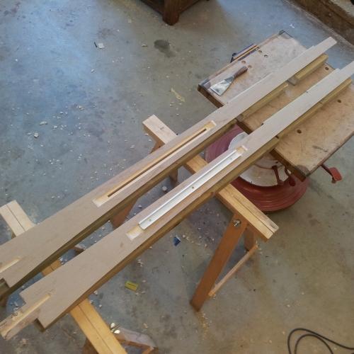 Making:  Split Column with Desk Track