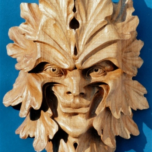 Green Man of Gemingstrasse Oak 14in