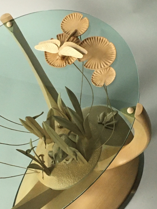 Pond Table - detail